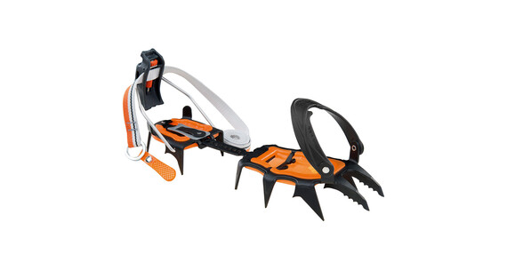 Climbing Technology Lycan semiautomatic Crampons orange/sort